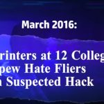 Hp Pagewide Printers Perth - Print Security - 12 Colleges involved in hack